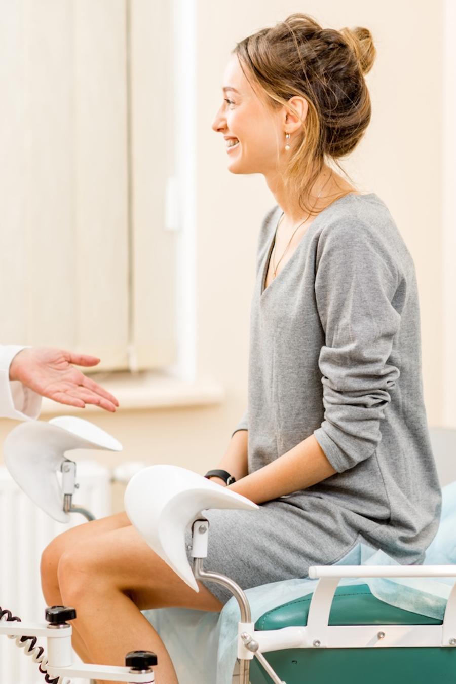 Ginecóloga y paciente