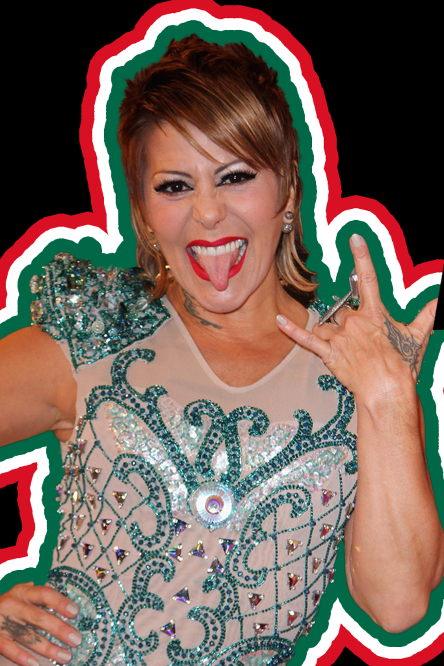"Alejandra Guzman en ""Growing Up Latino"""