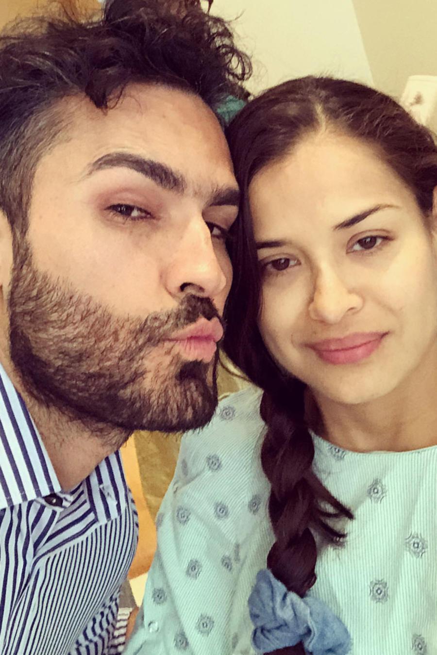 Fabián Ríos y Yuly Ferreira