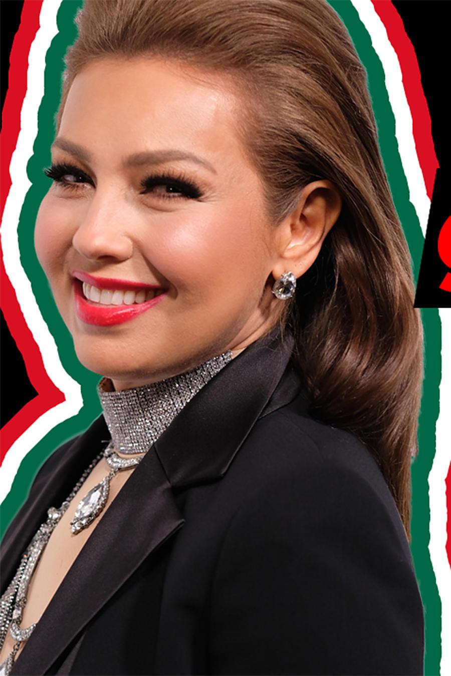 Thalia on Growing Up Latino episode
