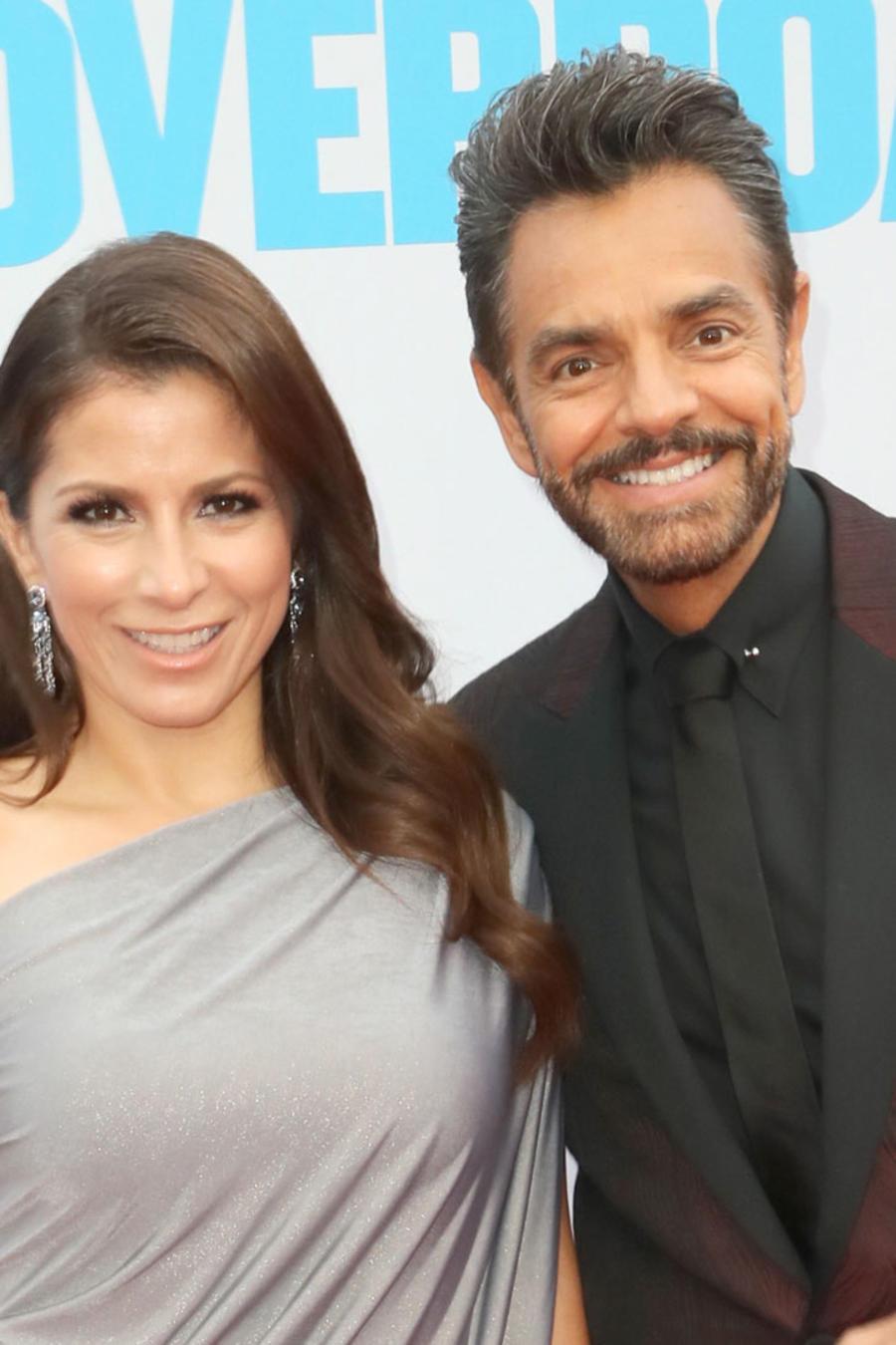 Eugenio Derbez y Alessandra Rosaldo