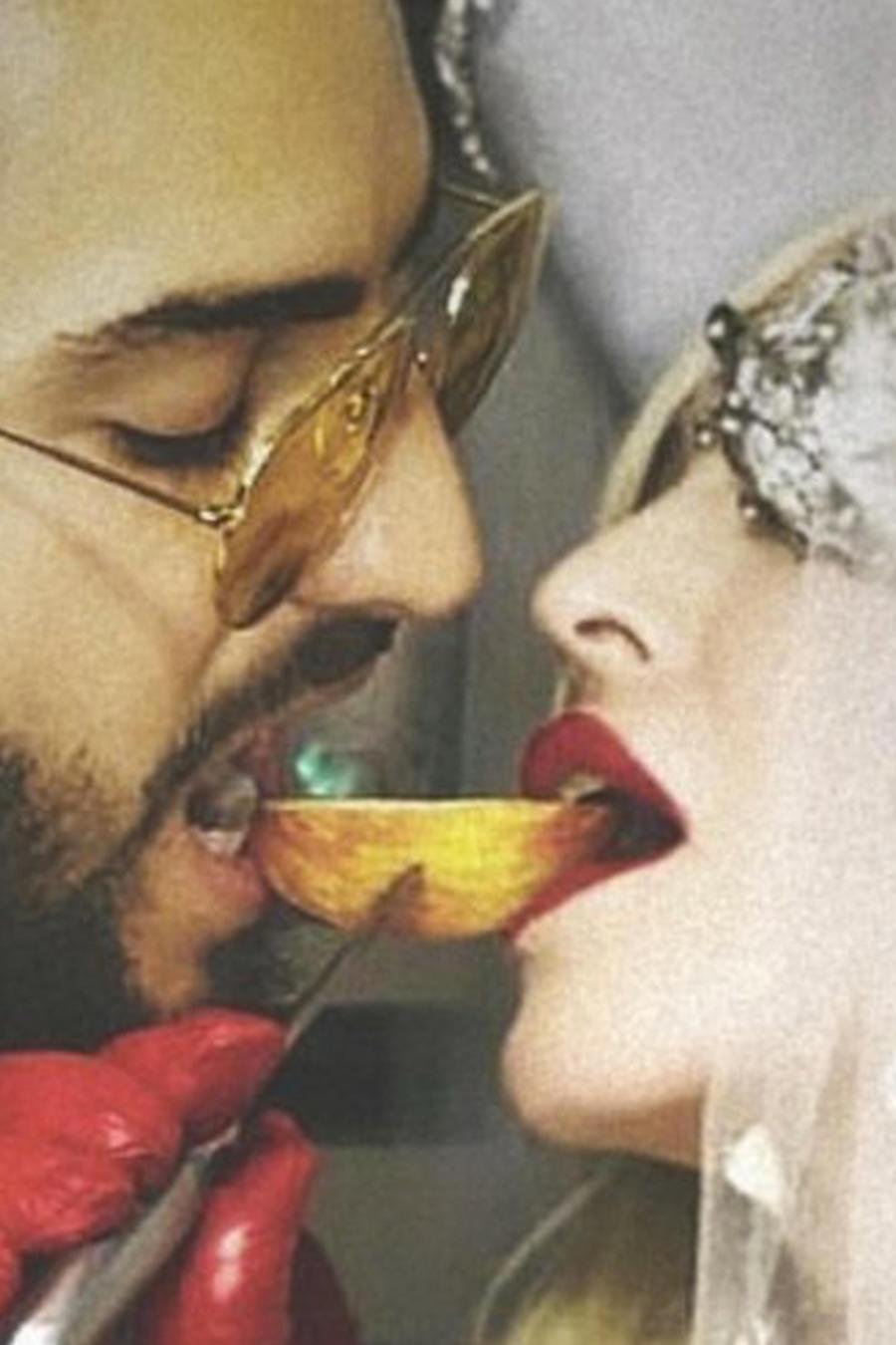 Madonna con Maluma en Medellín