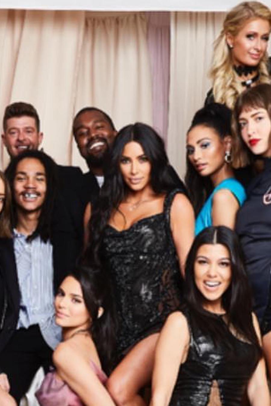 Kourtney Kardashian y los invitados a su cumpleaños