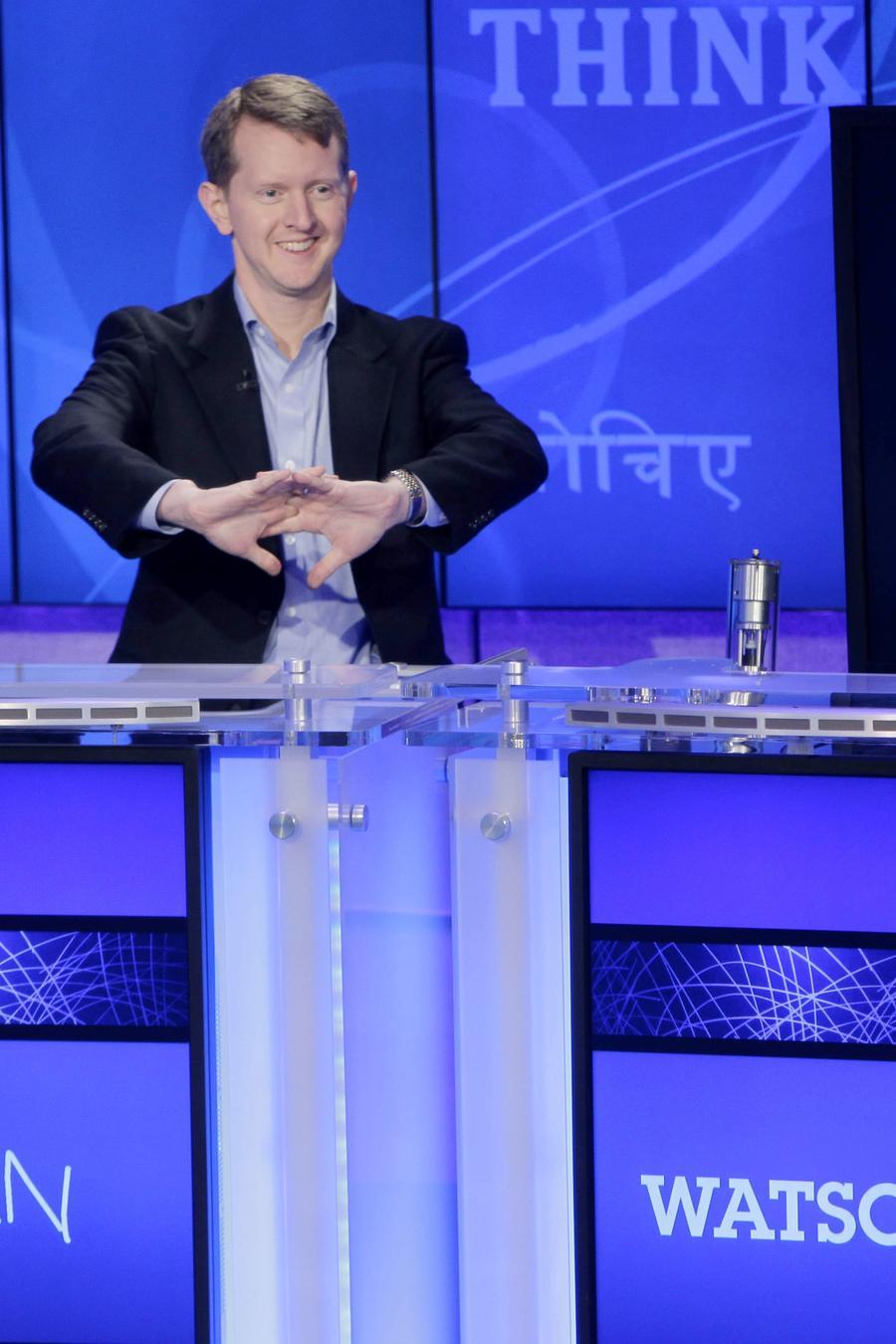 El concursante de  Jeopardy Ken Jennings, en una fotografía de archivo