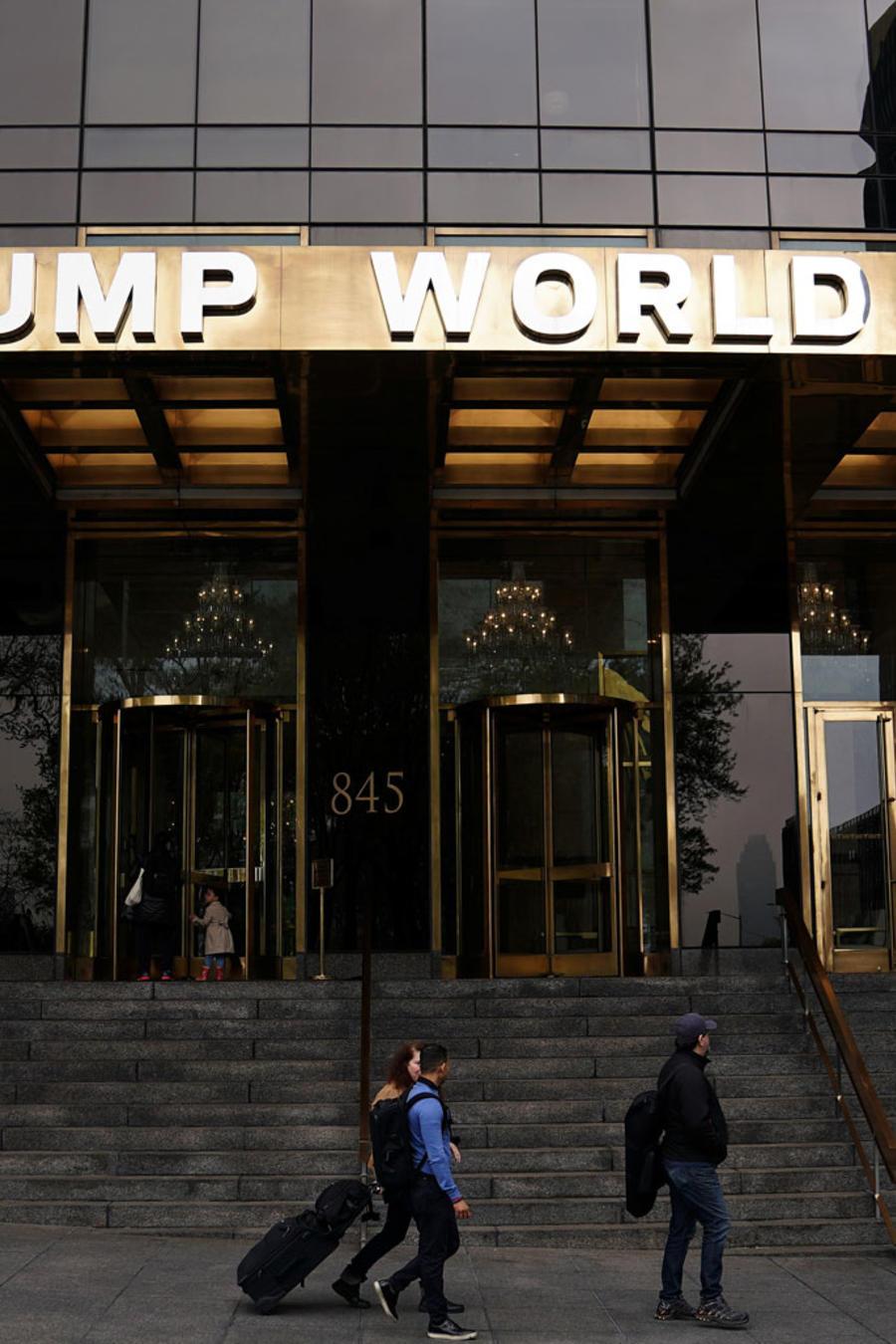 El edificio Trump World Tower en Nueva York