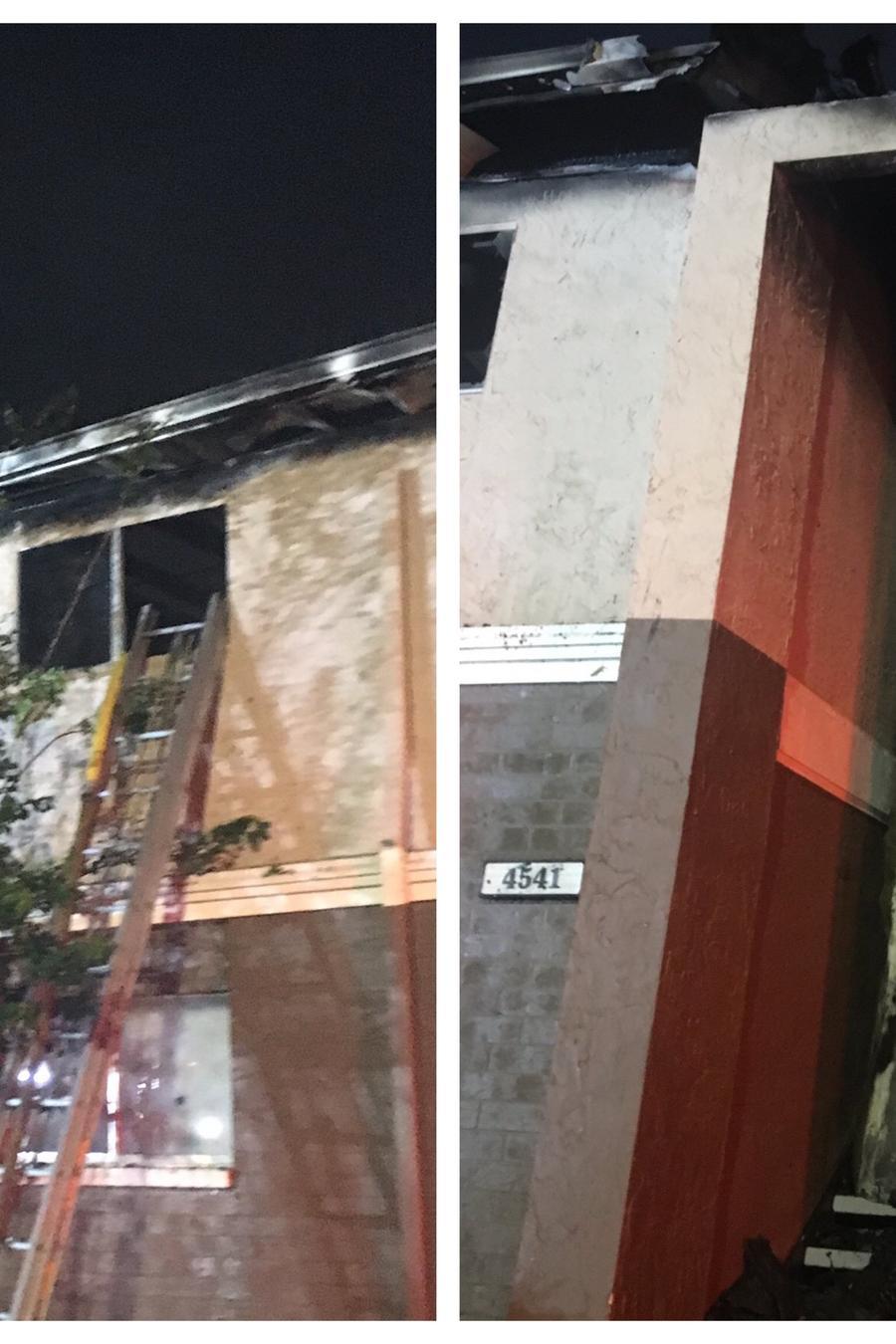Incendio en el condado de Hillsborough