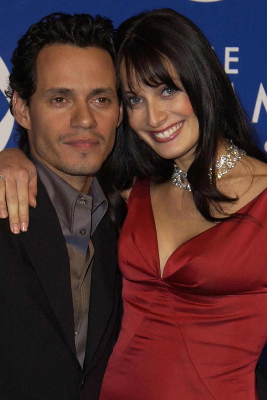 Marc Anthony y Dayanara Torres en los Grammy Awards