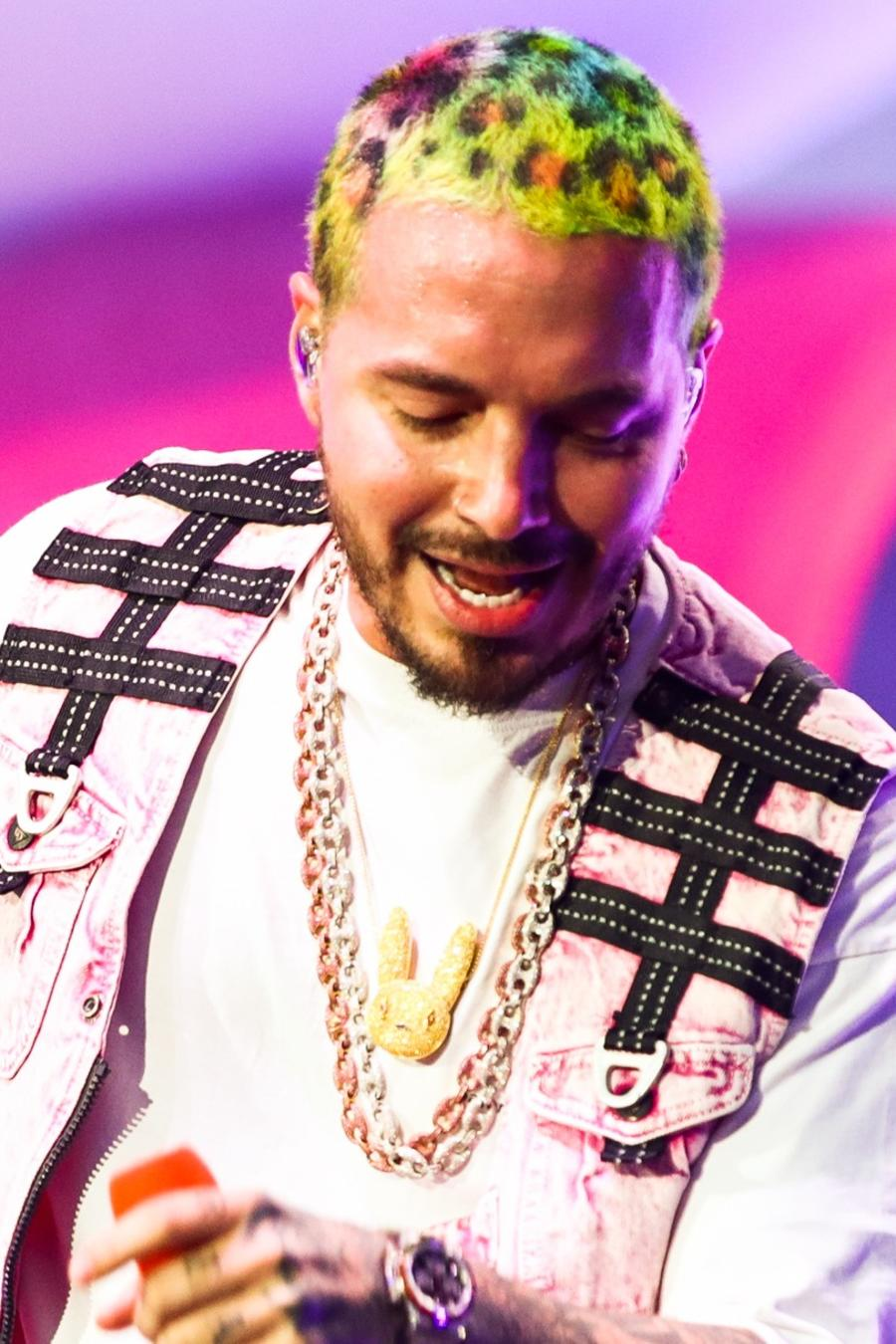 Check out J Balvin's hair evolution in photos