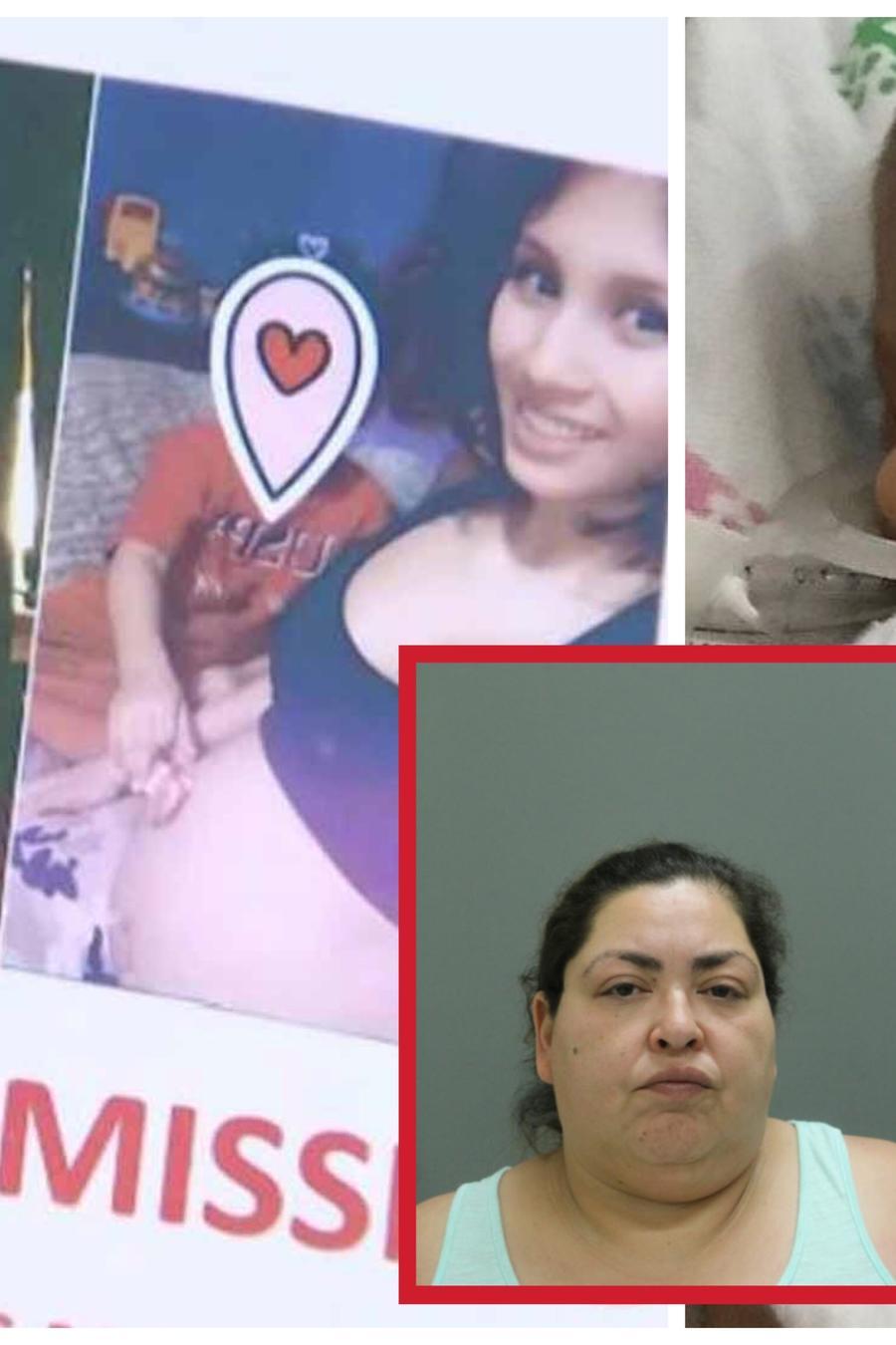 Marlen Ochoa, Yadiel y Clarisa Figueroa