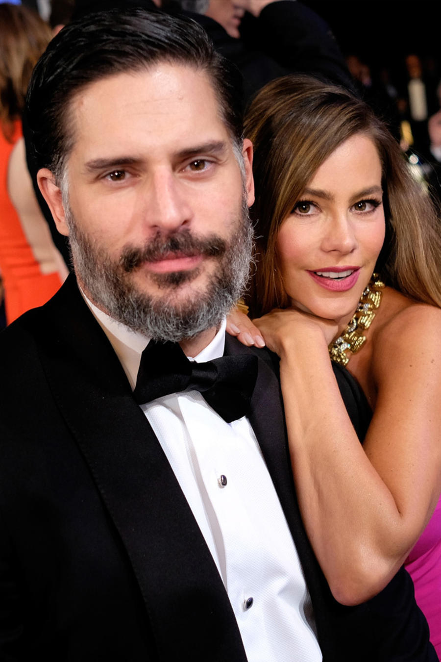 Joe Manganiello y Sofía Vergara en los 22nd Annual Screen Actors Guild Awards en Los Ángeles, California, el 30 de enero de 2016