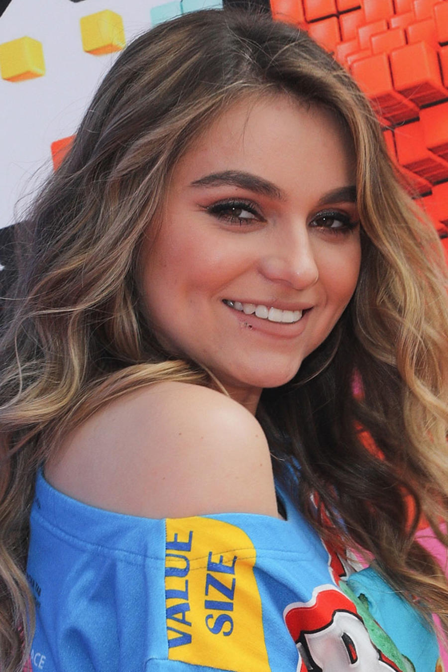 Sofía Castro en los Nickelodeon Kids 'Choice Awards México 2018