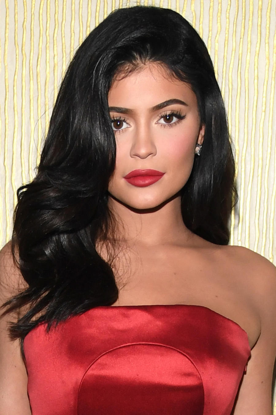Kylie Jenner en la Pre-GRAMMY Gala en California el 9 de febrero de 2019