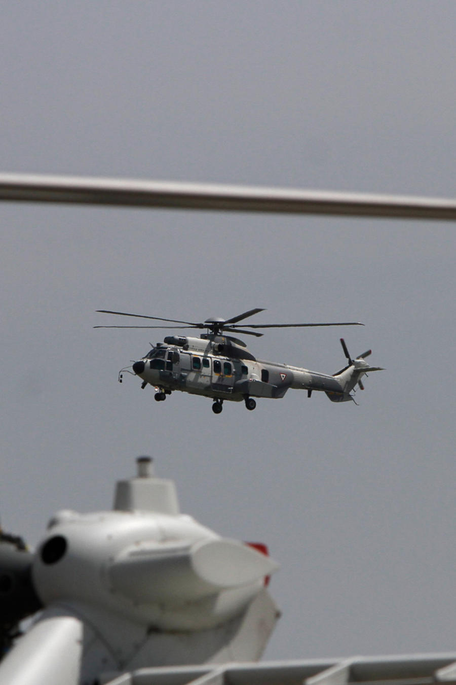 Helicóptero de la Armada de México en una imagen de archivo