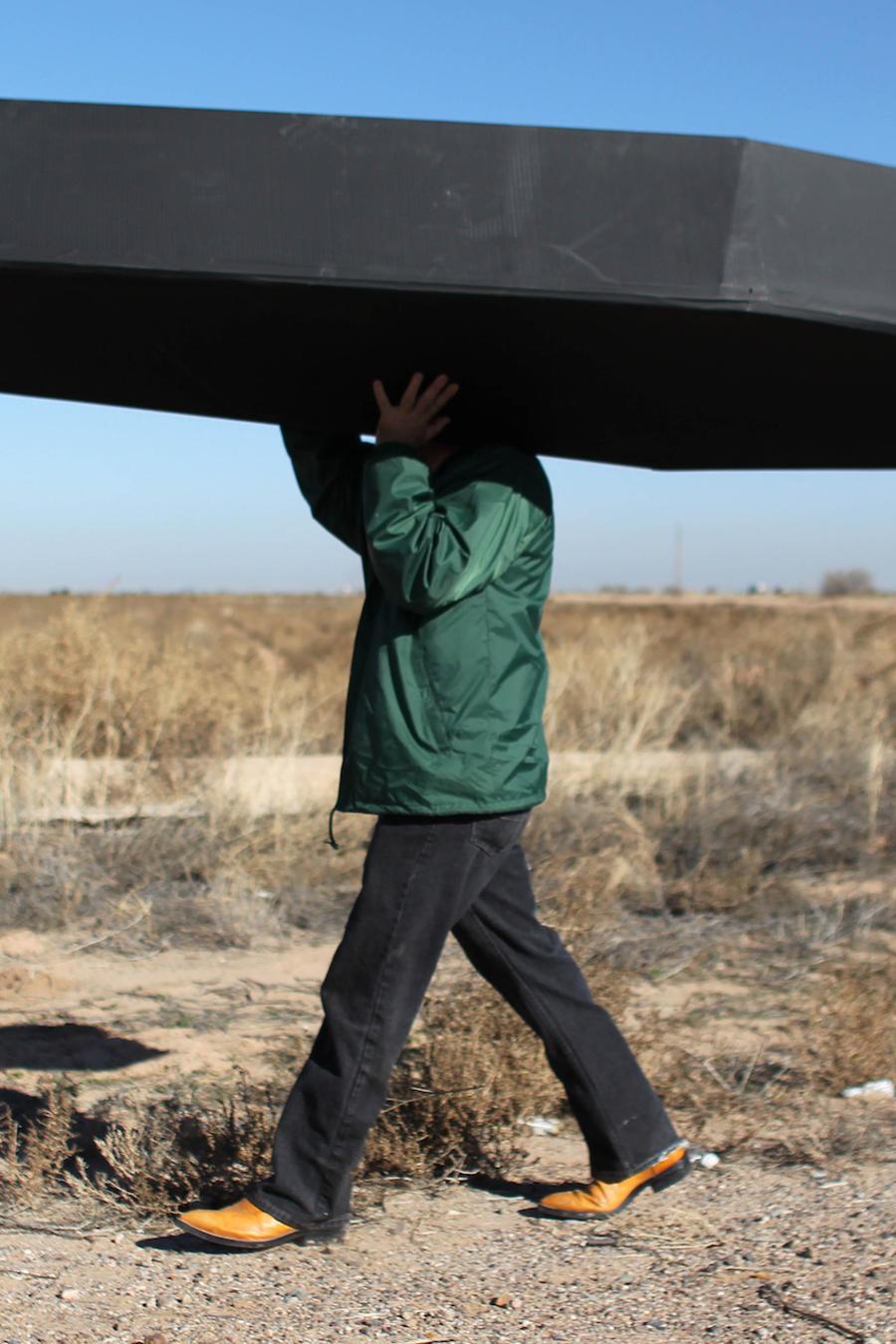 Imagen de archivo de una protesta frente un centro de detención de ICE en Arizona en enero de  2016.