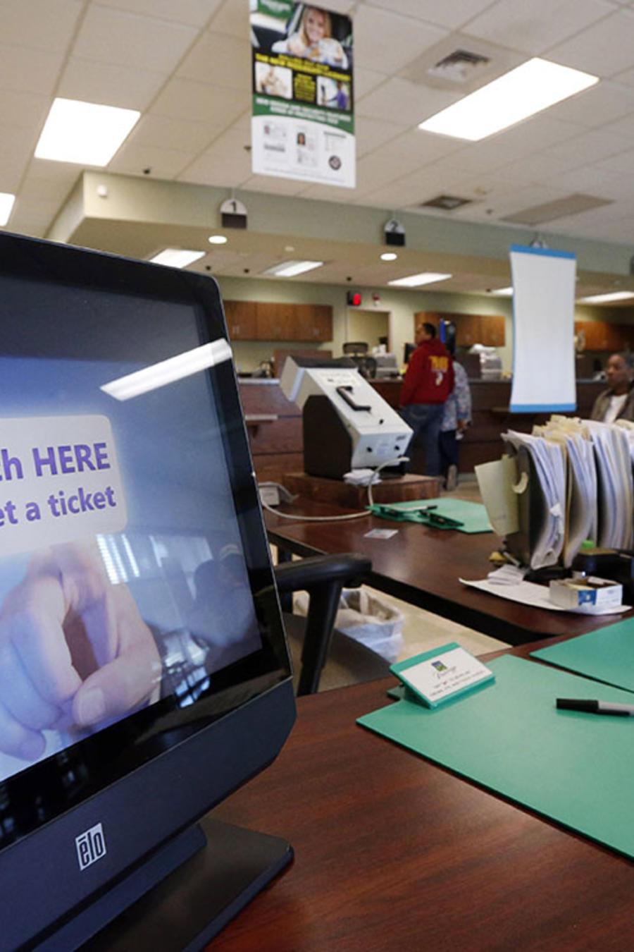 Imagen de una de las oficinas del Departamento de Seguridad Pública.