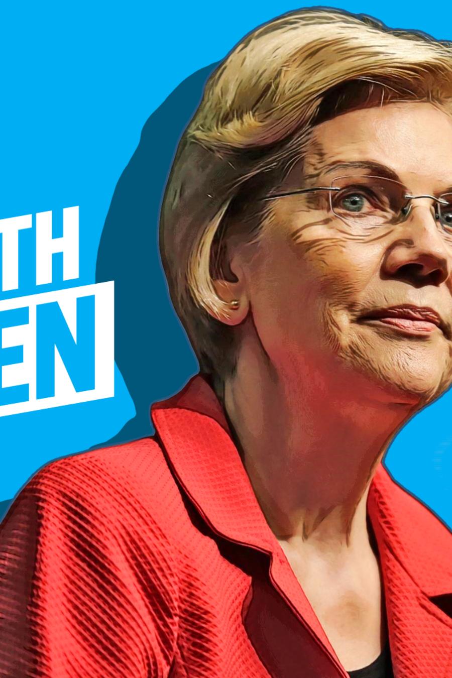 Elizabeth Warren, aspirante demócrata a la presidencia