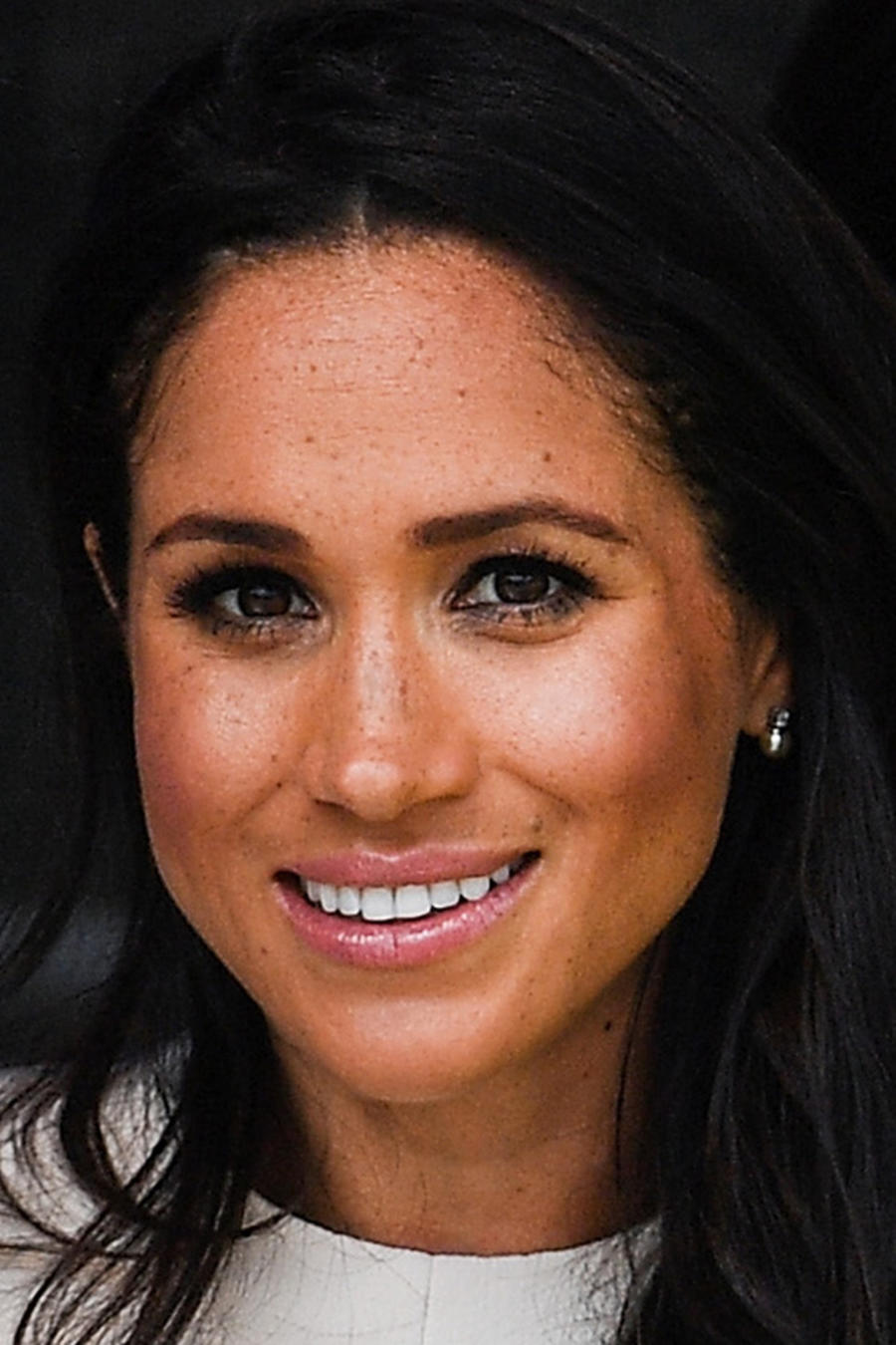 Meghan Markle en la ceremonia de apertura del Mersey Gateway Bridge en junio de 2018