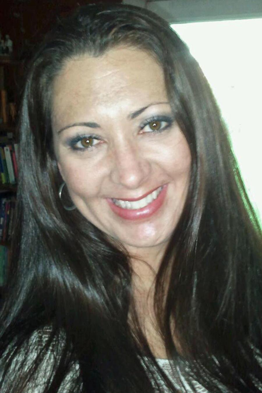 Jodie Christopher en selfie sonriendo