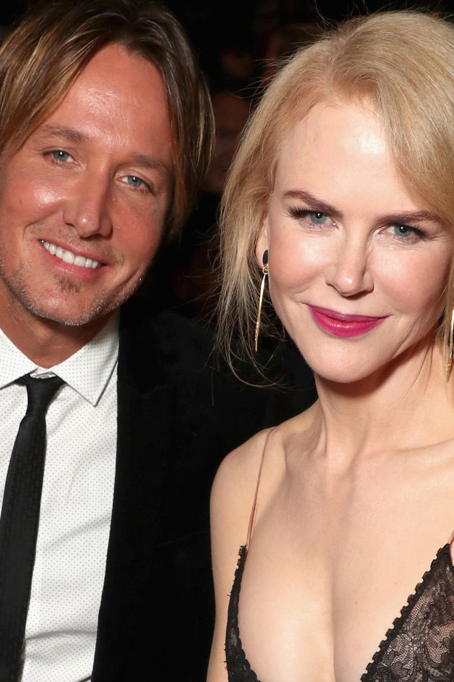 Nicole Kidman y Keith Urban en los 6th AACTA International Awards en enero de 2017