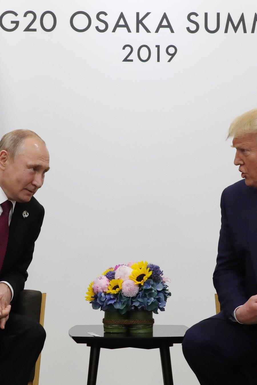 Putin y Trump se reúnen este viernes en la cumbre del G20 en Osaka (Japón).
