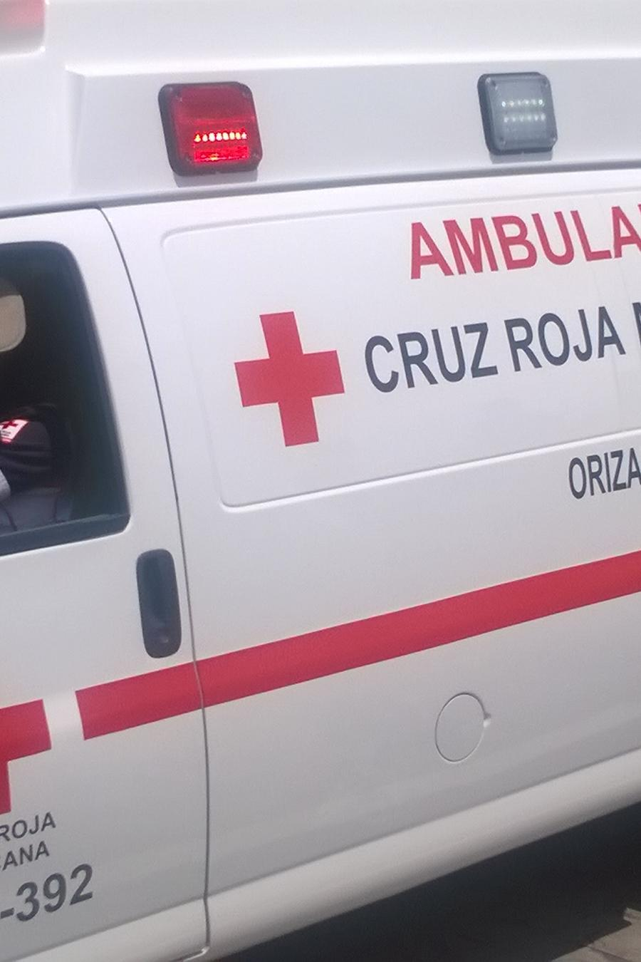 Una ambulancia en una foto de archivo.