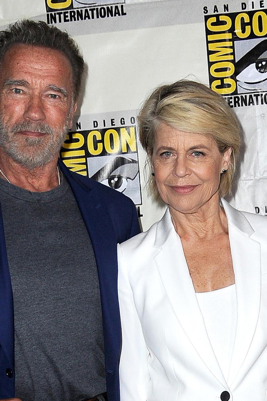 "Linda Hamilton and Arnold Schwarzenegger Tease ""Terminator: Dark Fate"""