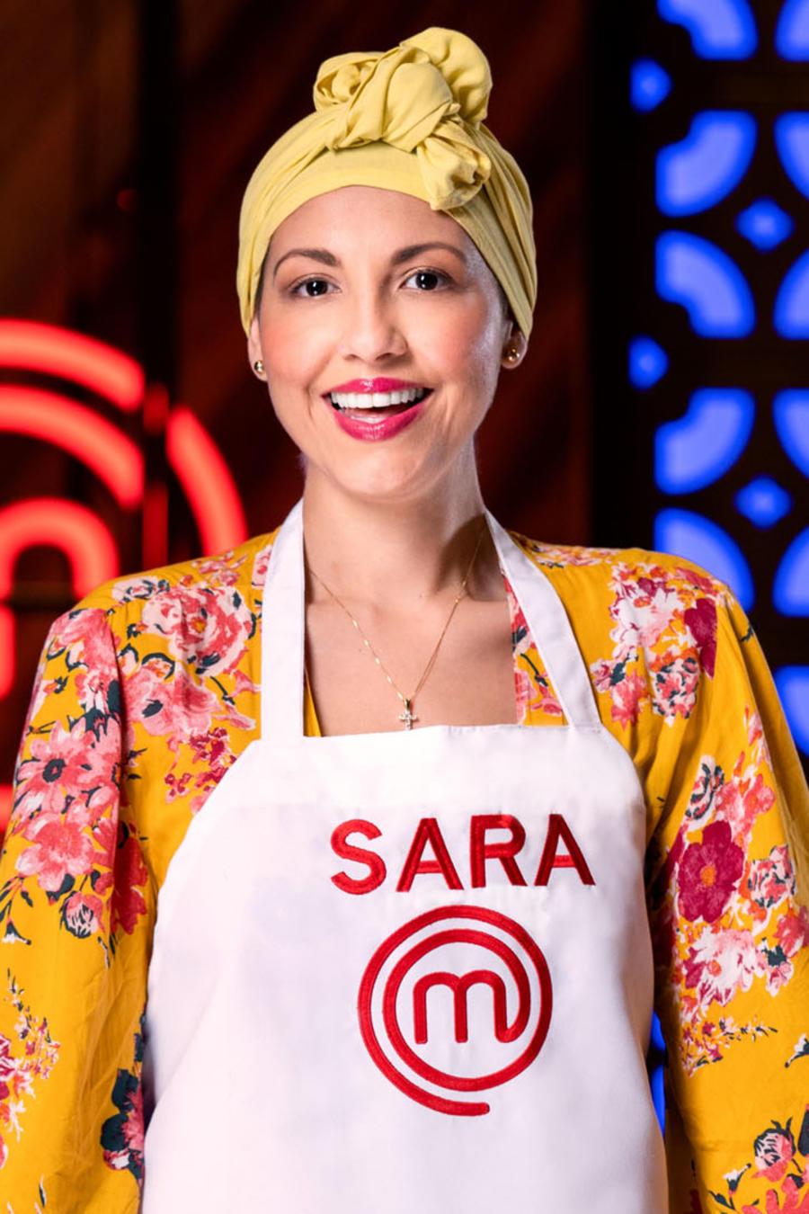 Sara Ordoñez en MasterChef Latino 2