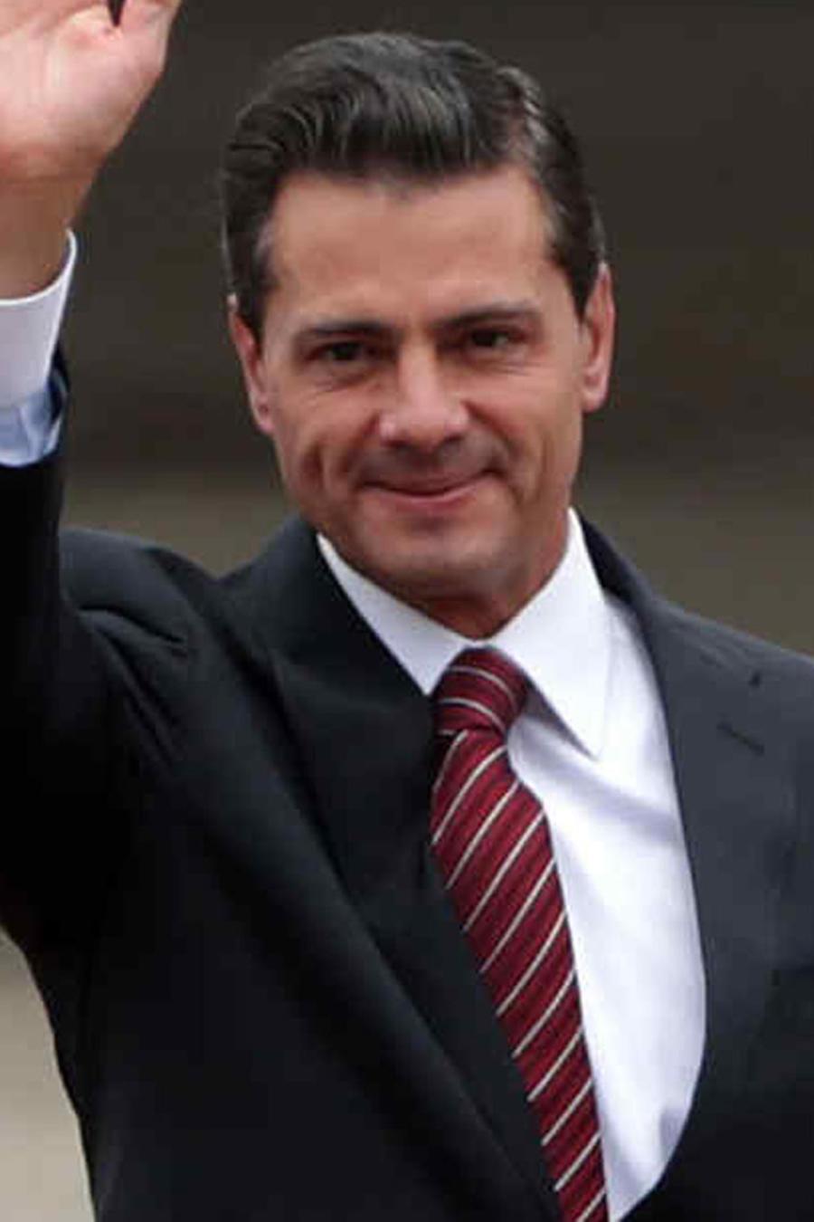 Enrique Peña Nieto y Tania Ruiz Eichelmann