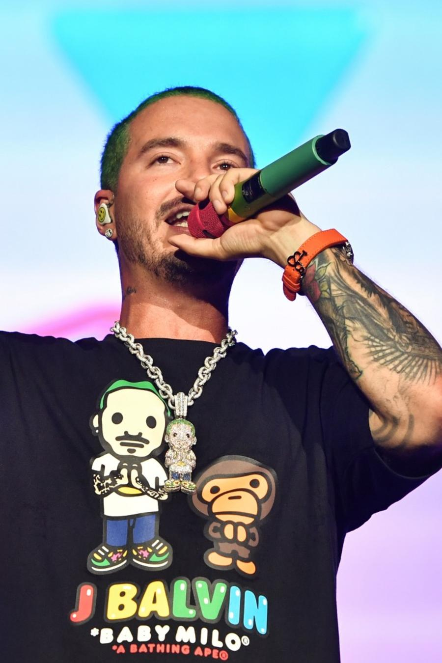 J Balvin makes history at Lollapalooza
