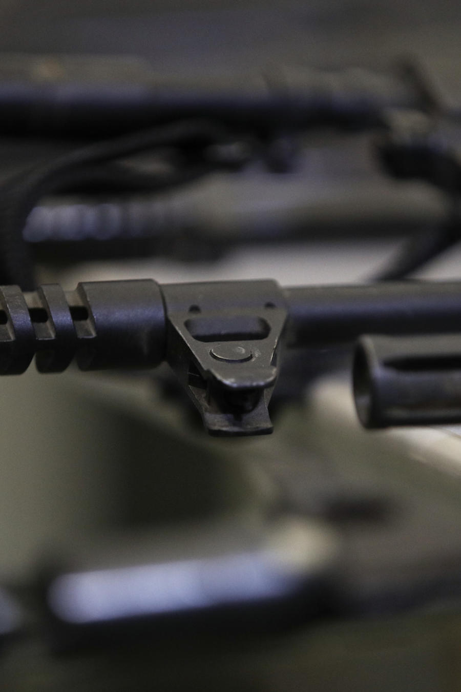 Imagen de archivo de armas.