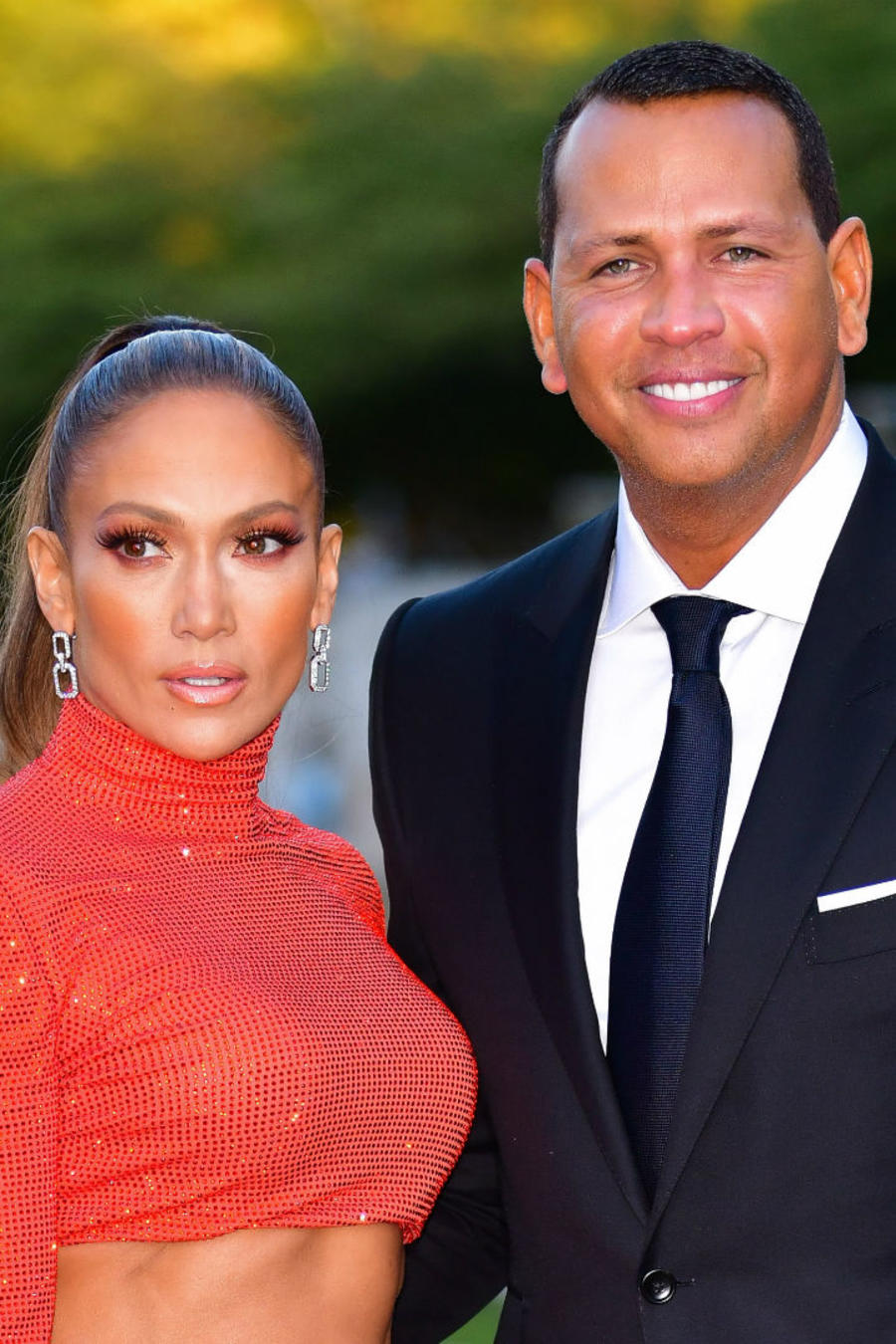 Jennifer Lopez y Alex Rodriguez Fashion Awards 2019