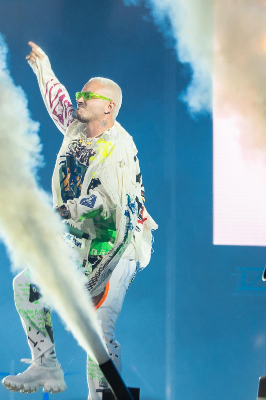 J Balvin performs in Baja Beach Fest