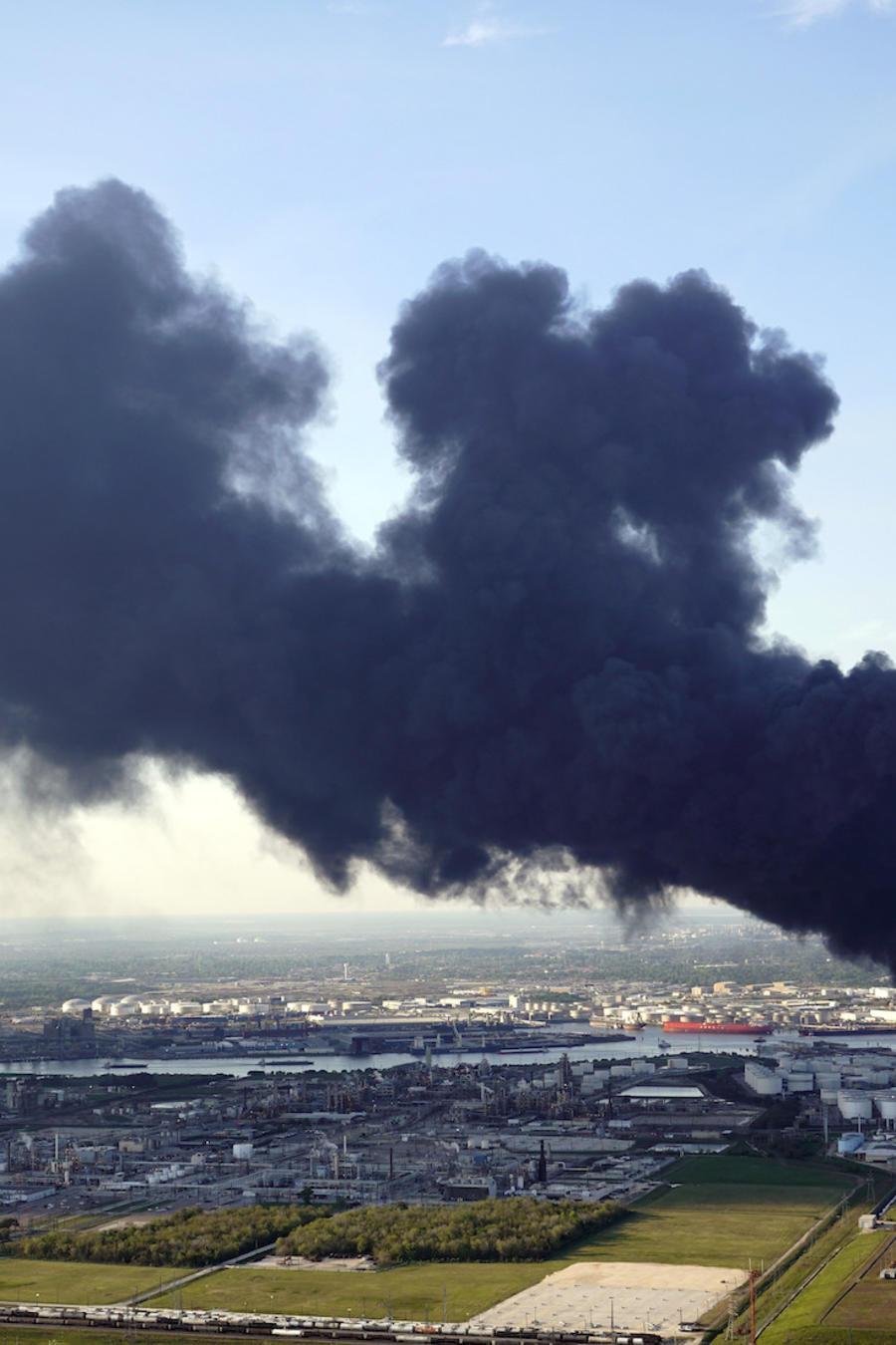 Imagen de archivo de un incendio en 2019.