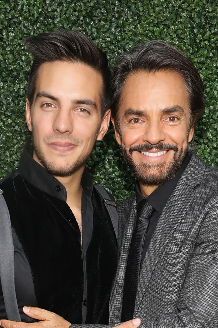 Eugenio Derbez y Vadhir Derbez
