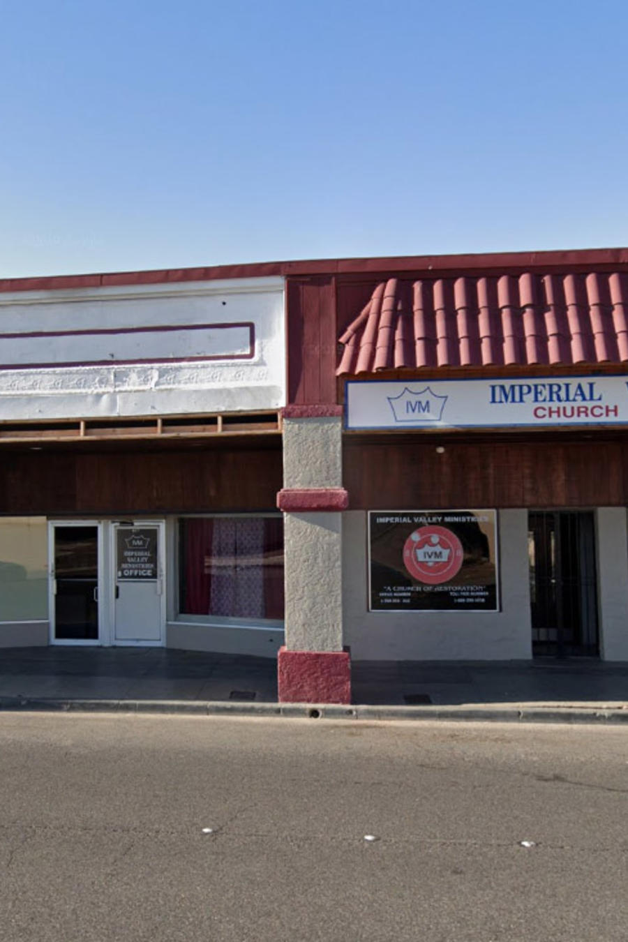 Local de Imperial Valley Ministries en El Centro (California).