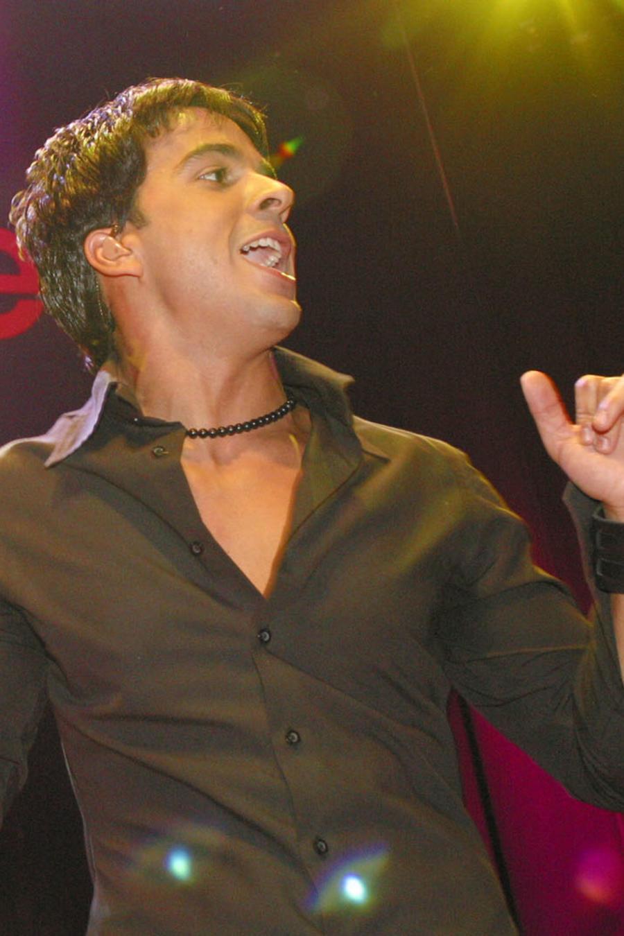 Ocean Drive en Espanol Party con Luis Fonsi 2002