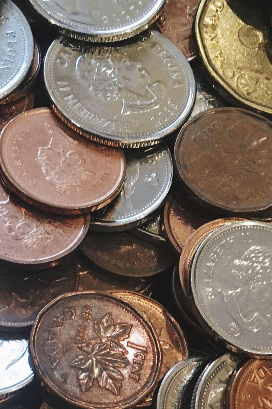 Monedas viejas
