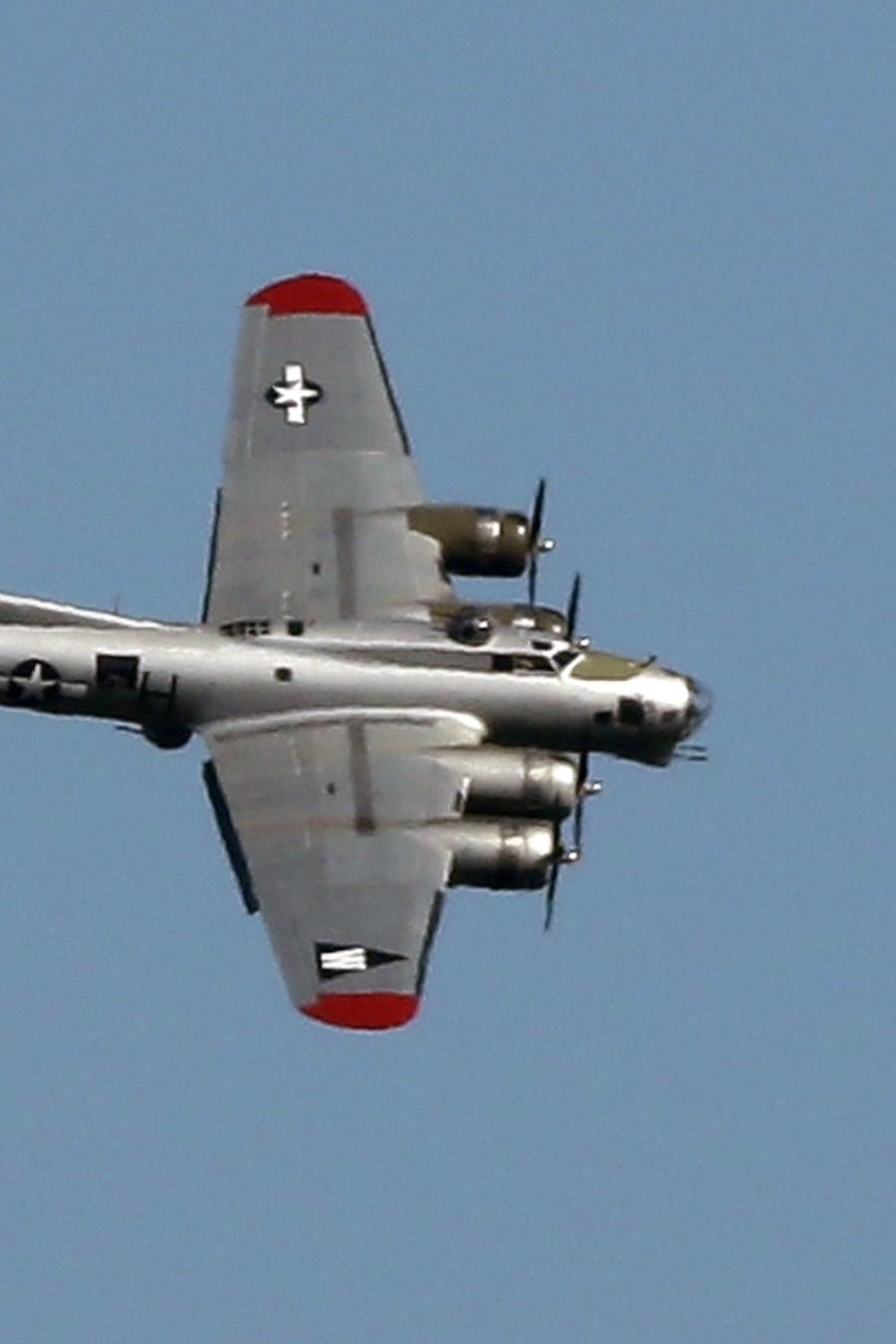 Imagen de archivo de un avión B-17.