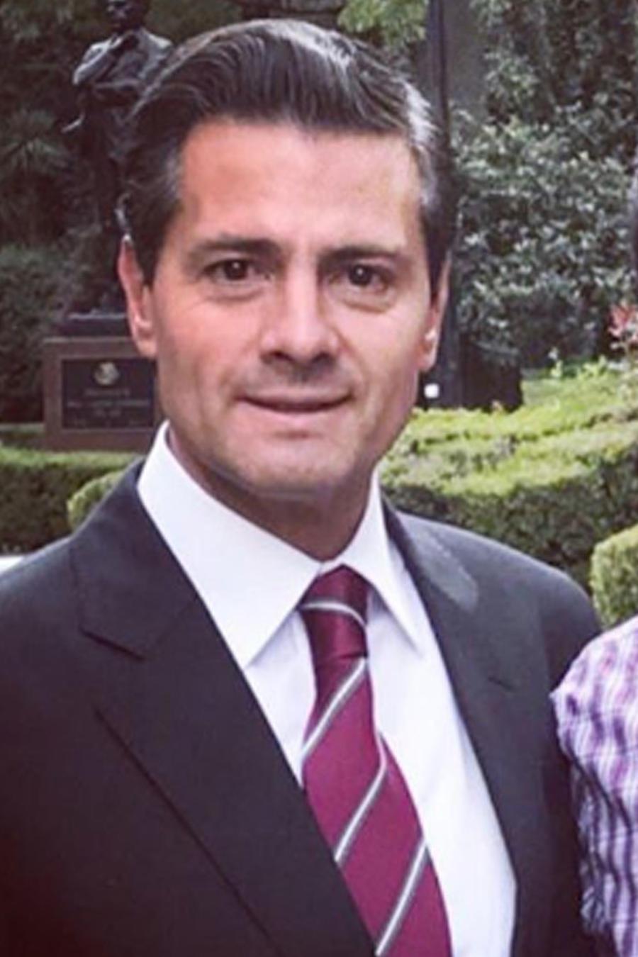 El hijo menor de Enrique Peña Nieto