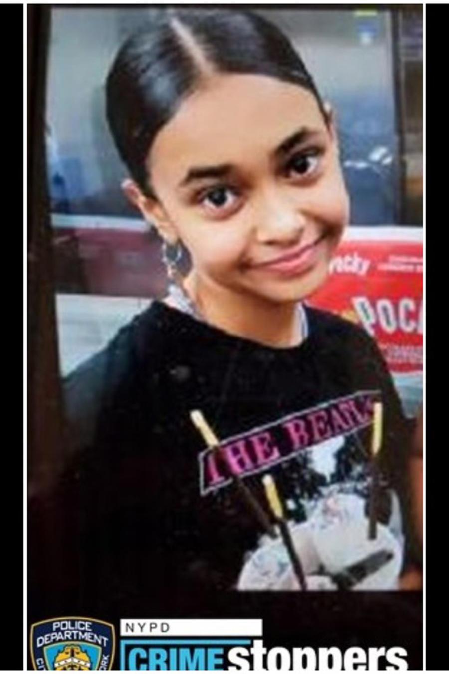 Jazlyn Camacho en la foto proporcionada por el NYPD