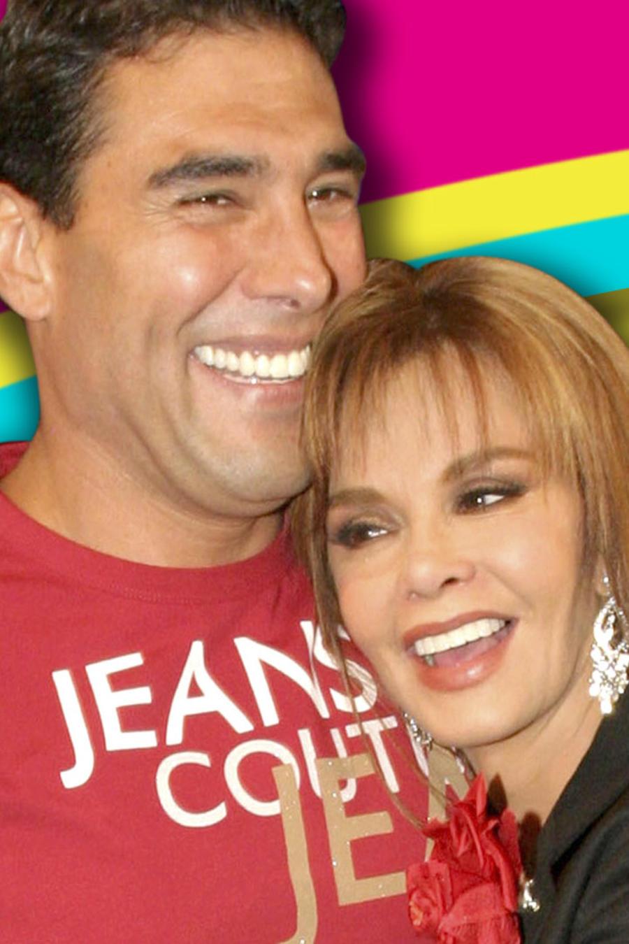 Eduardo Yáñez y Lucía Méndez