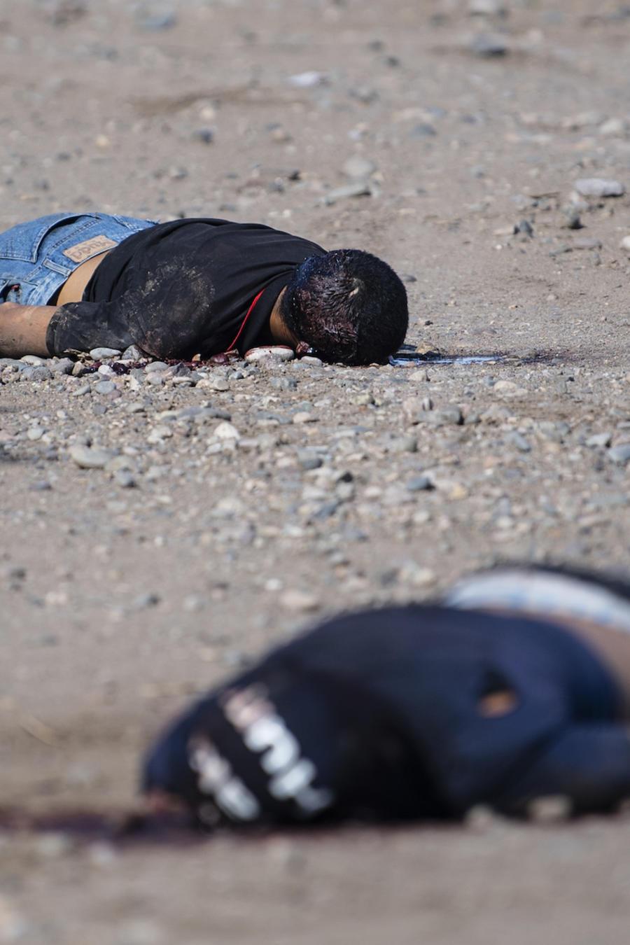 Dos muertos este jueves por el estallido de violencia en Culiacán (México).