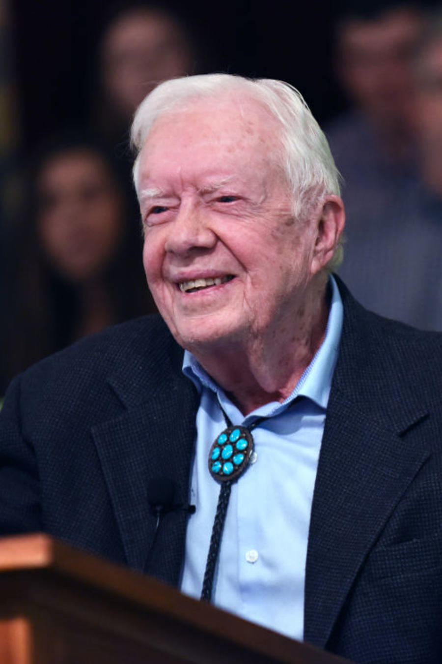 Jimmy Carter Teaches Sunday School in Plains, Georgia