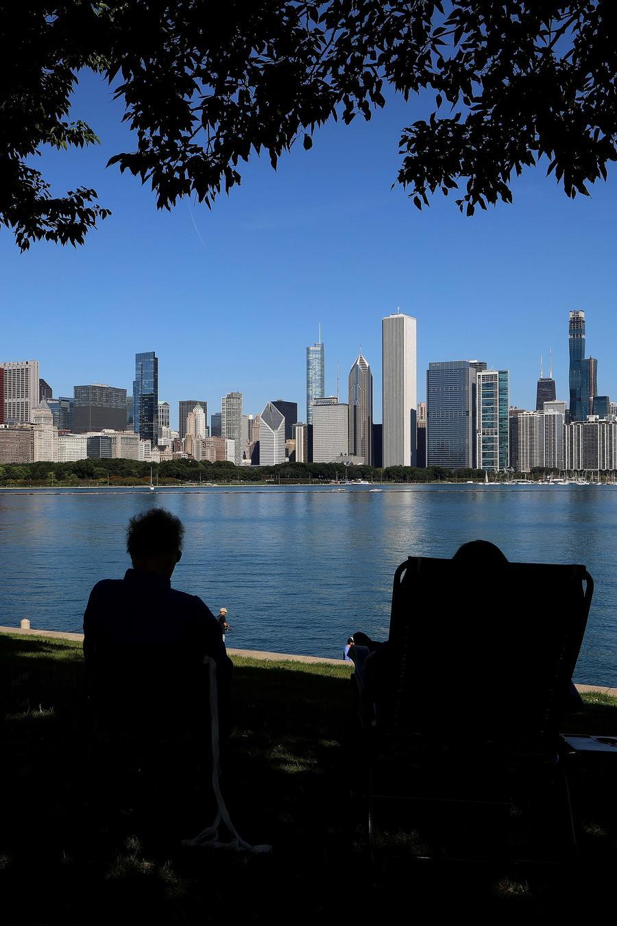 Fotografía de archivo de la ciudad de Chicago, Illinois