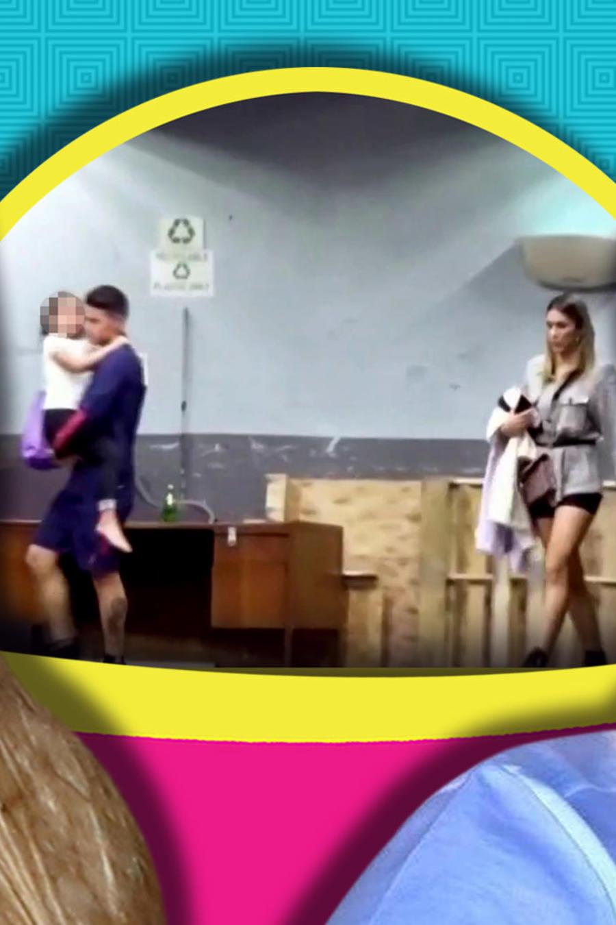 James Rodriguez fue visto con su ex y sin Shannon de Lima