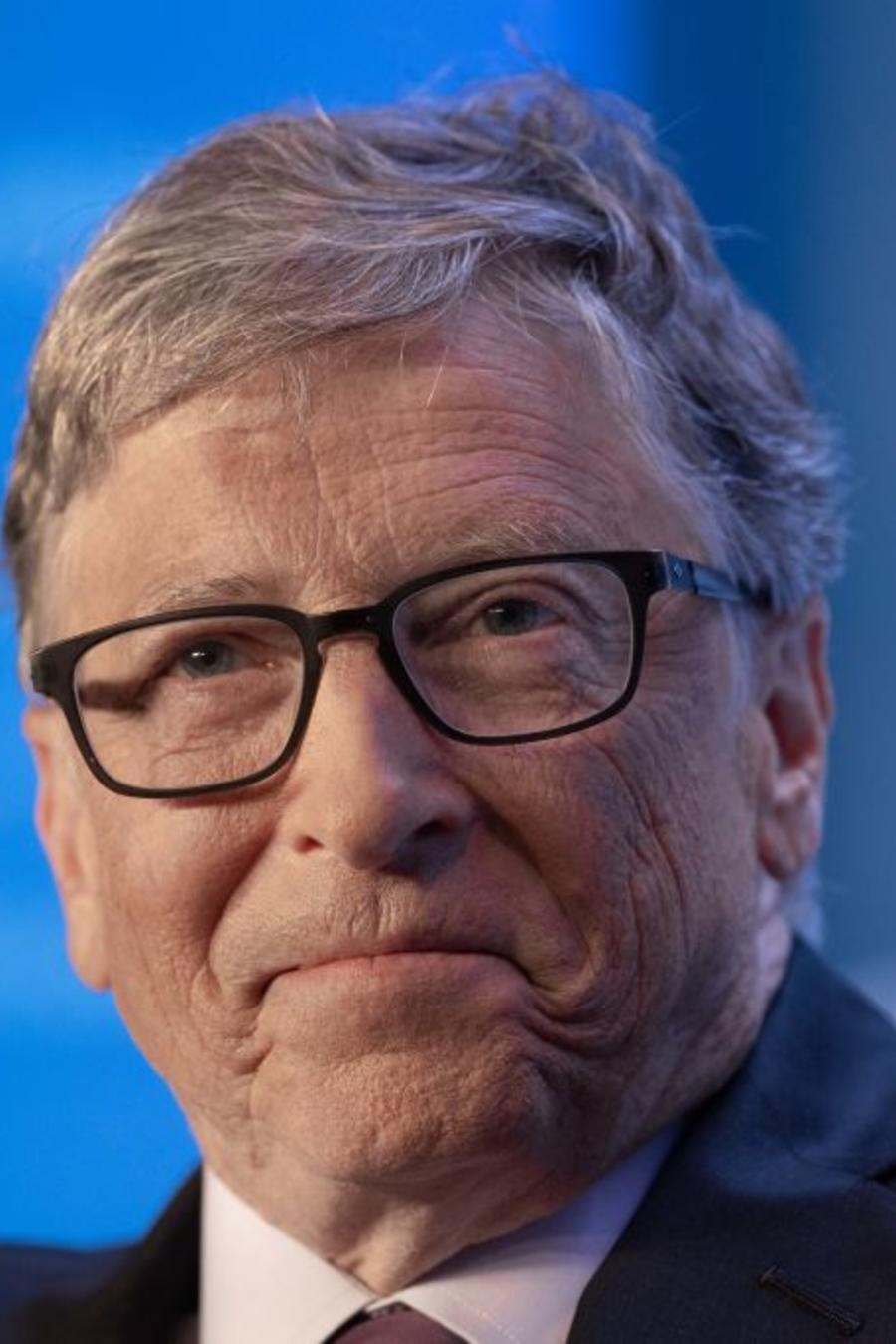El cofundador de Microsoft, Bill Gates, habla en del Club Económico de Washingtonel 24 de junio de 2019.