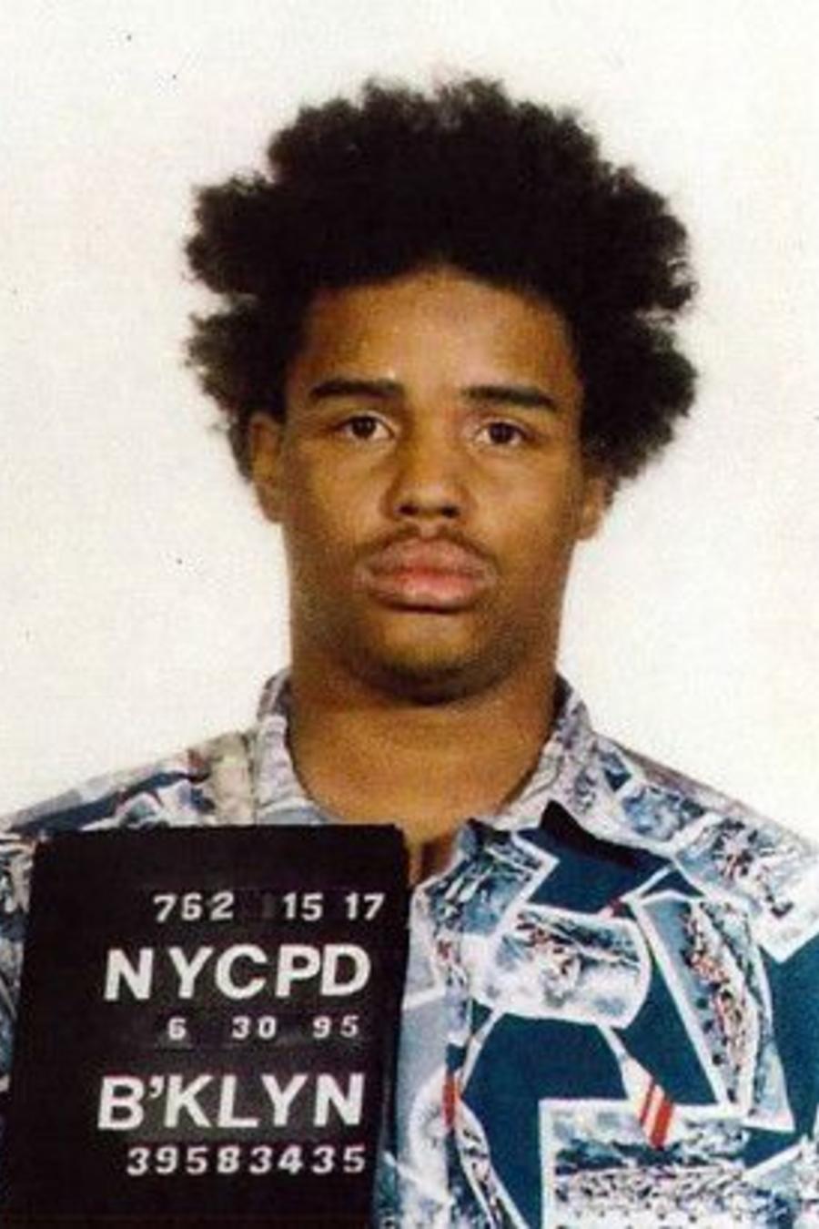 Eliseo DeLeón en la imagen de los récords de la Policía de Nueva York.