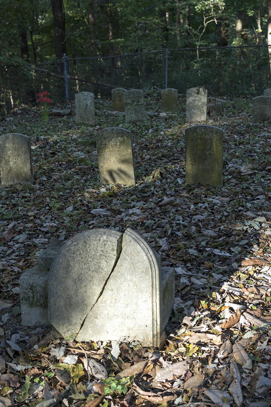 Imagen de archivo de un cementerio en Arkansas.