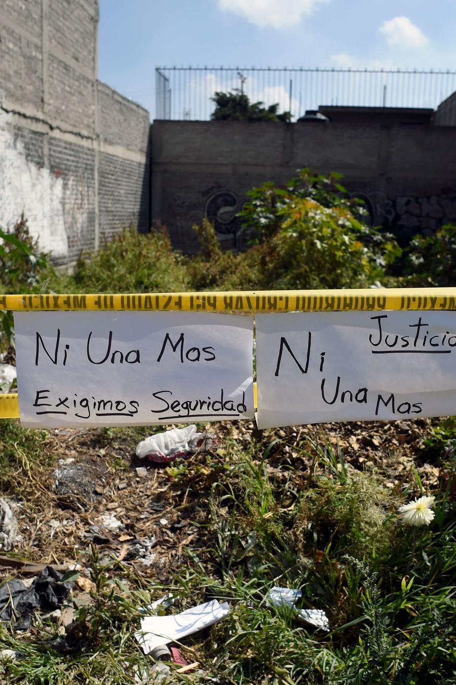 Feminicidios en México