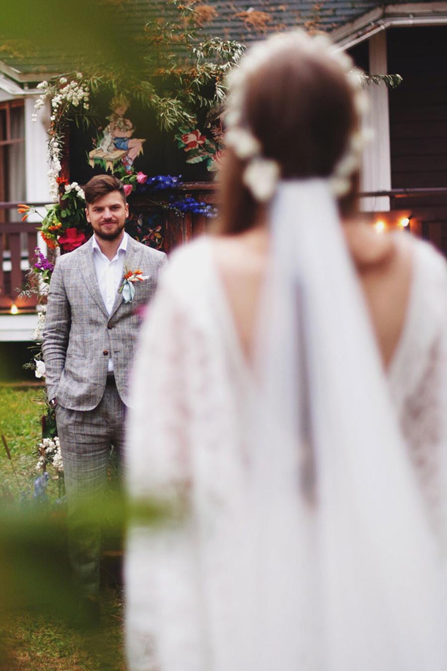 Pareja en boda